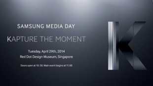 Samsung-Event am 29. April - kommt das Galaxy S5 Zoom?