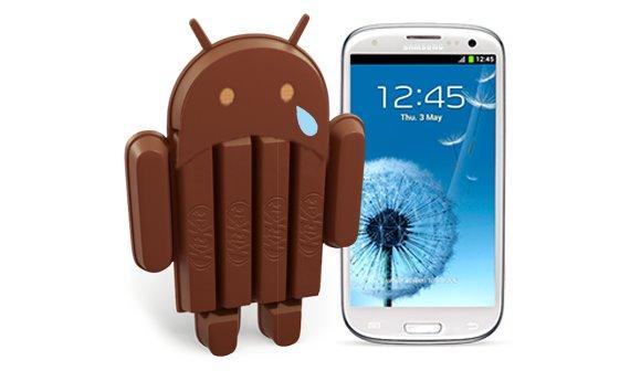Samsung Galaxy S3: Doch kein Android 4.4?