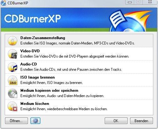 kostenlose brennprogramme cdburnerxp