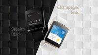 LG G Watch: Alle Spezifikationen & Preis geleakt, 36 Stunden Akkulaufzeit, I/O-Give-Away