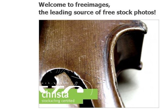 Copyright-freie Bilder - die drei besten Seiten