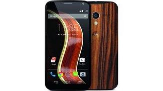 Motorola Moto X: Modell mit Walnut-Finish ab sofort bei Saturn und Media Markt erhältlich