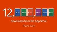 Office für iPad: 12 Millionen Downloads in einer Woche