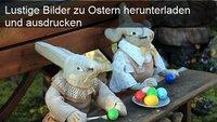 Ostern: Bilder und Motive herunterladen und ausdrucken oder bei Facebook und Co. teilen