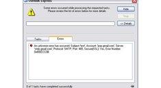Outlook versendet keine Mails: 0x800ccc und andere Fehlermeldungen