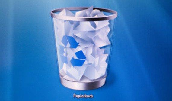 Windows: Papierkorb wiederherstellen - So funktioniert's