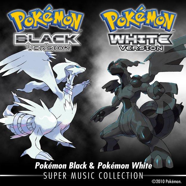 Pokémon Schwarz/Weiß: Super Music Collection bei iTunes erhältlich