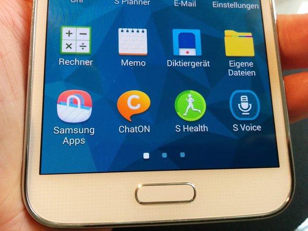 Samsung Galaxy: Hauseigene Apps wie ChatON, S Memo und S Voice werden kaum genutzt