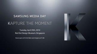 Samsung Galaxy K Zoom/S5 Zoom: Smartphone-Kamera-Hybrid wird am 29. April vorgestellt