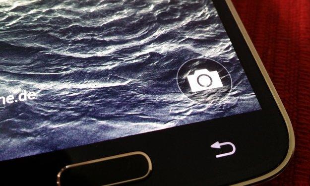 Samsung Galaxy S5: Kamera-Verknüpfung auf dem Lockscreen – so bekommt man sie zurück