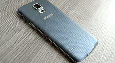 Samsung Galaxy S5: Gerätedesigner verteidigen Plastik-Rückseite
