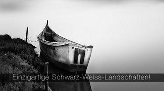 Einzigartige Schwarz-Weiss-Landschaften!