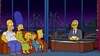 Simpsons ehren Showmaster David Letterman mit Couch-Gag