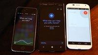 Siri vs Cortana vs Google Now: Sprachassistenten im Vergleich