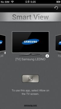 smartphone und tablet mit samsung fernseher verbinden android und ios. Black Bedroom Furniture Sets. Home Design Ideas