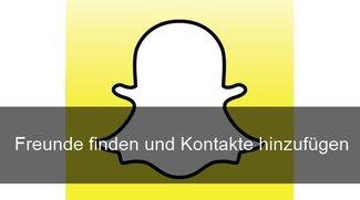 Hier kann man Snapchat Kontakte finden und Freunde hinzufügen