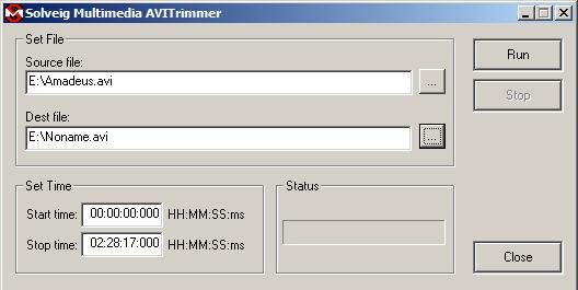solveig-mm-avi-trimmer-screenshot