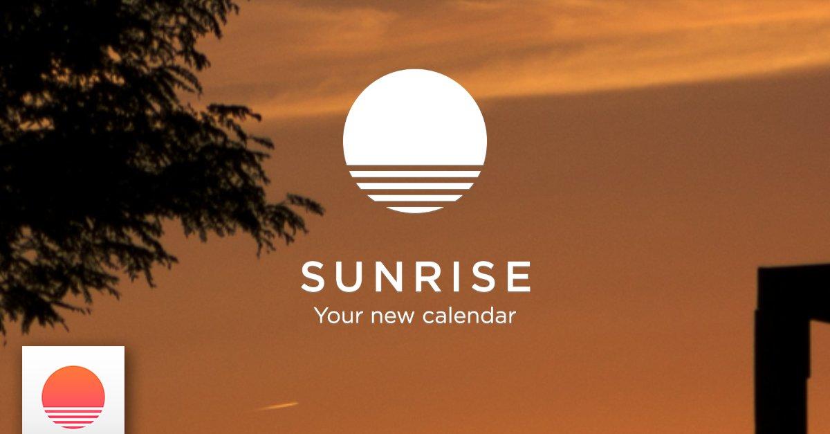 sunrise calendar schicke kalender app in die betaphase. Black Bedroom Furniture Sets. Home Design Ideas