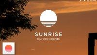 Sunrise Calendar: Schicke Kalender-App in die Betaphase entlassen