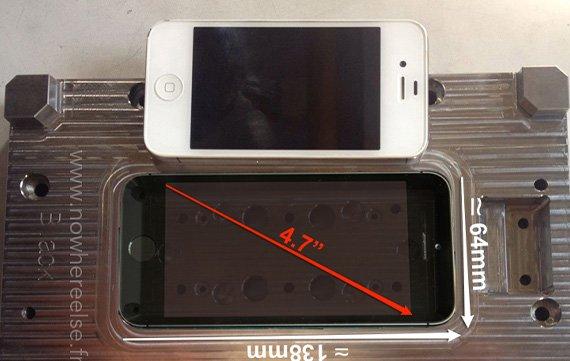 iPhone 6: Neues Foto deutet auf 4,7-Zoll-Display