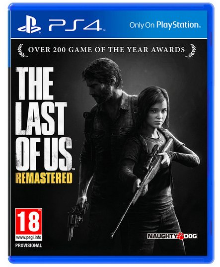 the last of us remastered boxart