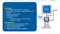 Thunderbolt 3: Neuer Anschluss und bis zu 40 Gigabit pro Sekunde
