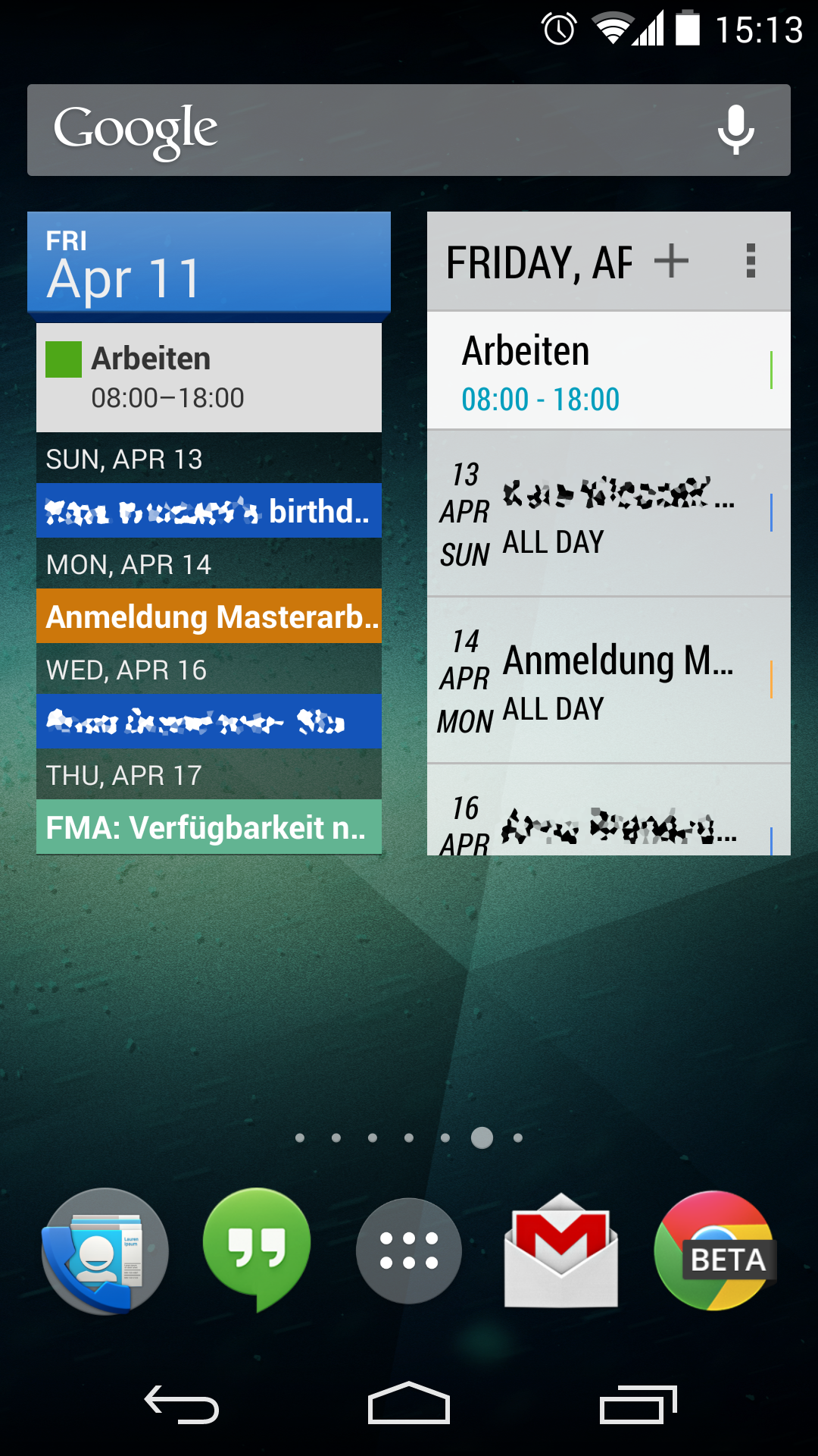 Google Kalender Widget Anpassen
