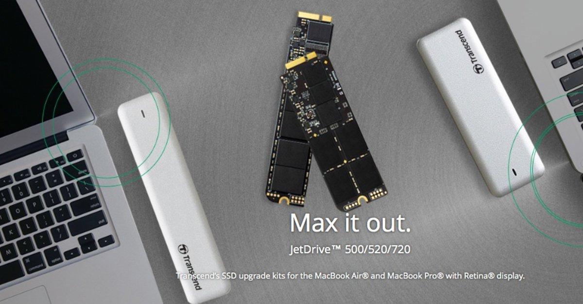 macbook air und pro neue ssd upgrades mit bis zu 960 gigabyte erh ltlich giga. Black Bedroom Furniture Sets. Home Design Ideas