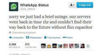 WhatsApp ist aktuell down - Nachrichten kommen nicht an