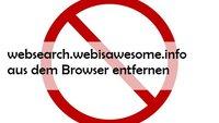 websearch.webisawesome-Virus löschen: So geht es