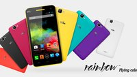 Wiko Rainbow: Farbenfrohes 159 Euro-Smartphone mit HD-Display und Quad Core-Chip vorgestellt