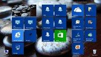 Windows 8: Startbildschirm ändern