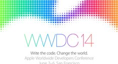 WWDC 2014: Vom 2. bis 6. Juni [Update]