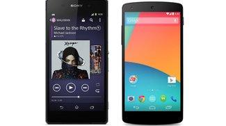 Sony Xperia Z2 vs. Google Nexus 5: Technische Daten im Vergleich