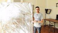 DIY-Tipp - Reflektor selber bauen