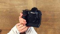 Nikon D4S Unboxing und erster Eindruck