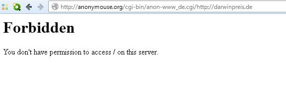 HTTP 403 Forbidden: Fehler beheben und umgehen (