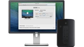4K-Displays mit OS X 10.9.3 im Test