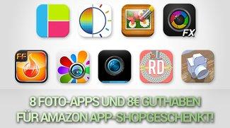 Amazon schenkt euch 8 Foto-Apps für Android und 8€ Guthaben!