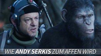 Planet der Affen - Revolution: Andy Serkis wird Caesar