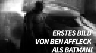 Batman vs. Superman: Seht Ben Affleck als Dark Knight