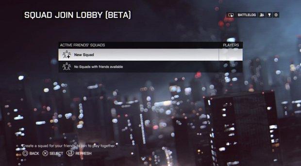 Battlefield 4: Pre-Match Squads kommen nun doch