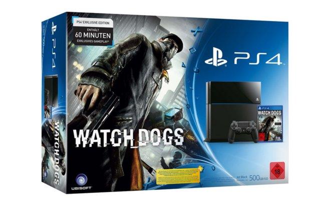 PlayStation 4: Watch Dogs Bundle bei Amazon erhältlich!