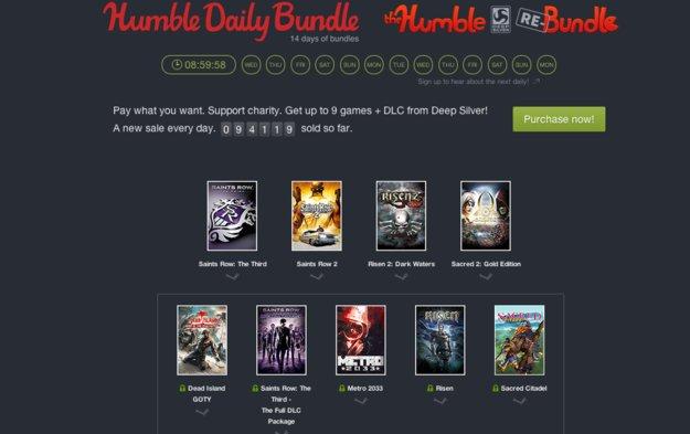 Humble Daily Bundle: Nur heute Dead Island, Risen, Saints Row im Angebot