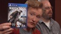 Clueless Gamer: Conan O'Brien spielt 6 Minuten Watch Dogs (Video)