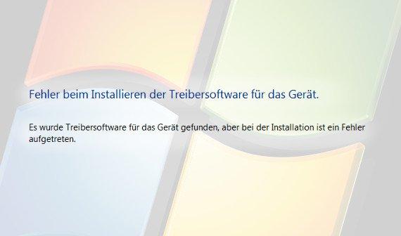 Fehler beim Installieren der Treibersoftware für das Gerät - Troubleshoot