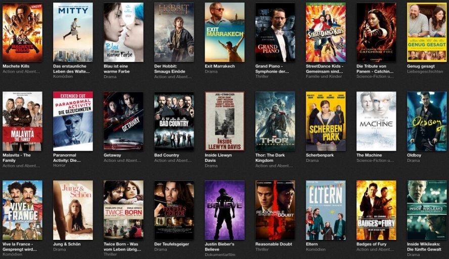 Kinofilme Netflix