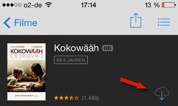 iTunes Store: Filme erneut (und kostenlos) herunterladen