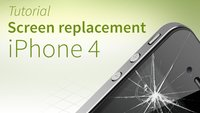 iPhone 4 screen repair tutorial and FAQ [english]