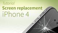iPhone 4 screen repair tutorial and FAQ [english]